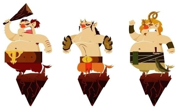 Faun - characterdesign, faun, vector - jjneto   ello