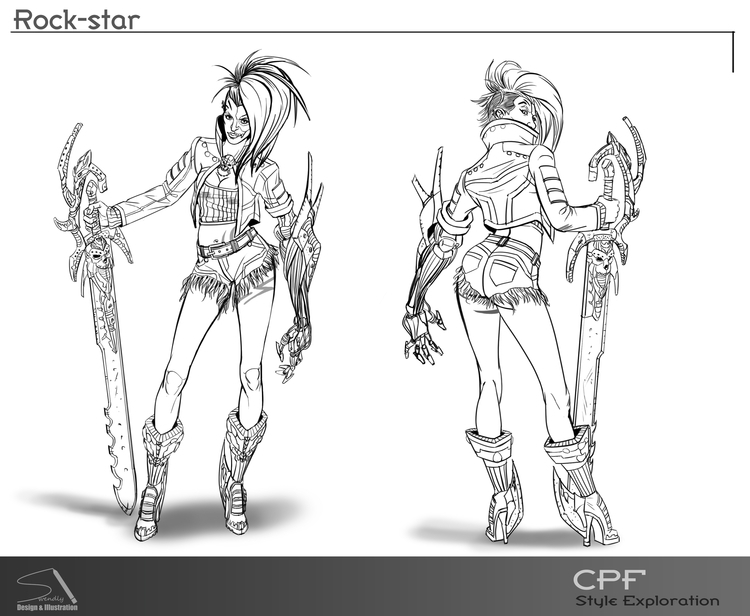 Personal work - characterdesign - swen-4256 | ello