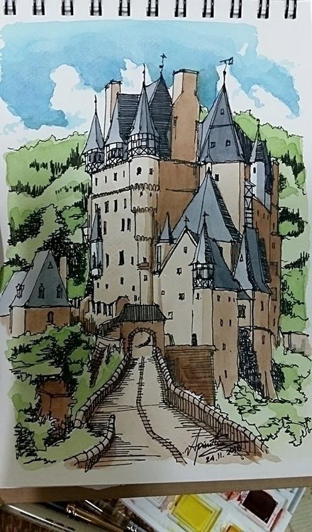 Burg Elz castle, Germany Speed  - apinutsompakdee | ello