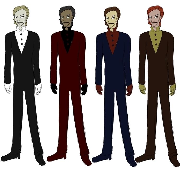 Baron Rue - characterdesign - irishpandaproductions | ello