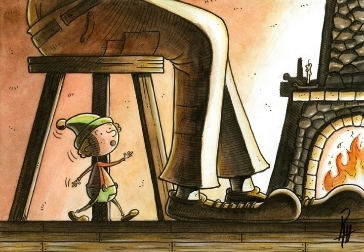 Secrets - illustration, painting - marcorizzi-1205 | ello