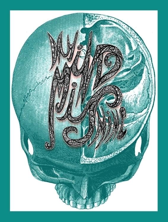 Mind - illustration, lettering, mind - tiki-1251 | ello