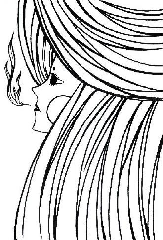 breath - illustration, girl, blackandwhite - kekemao   ello