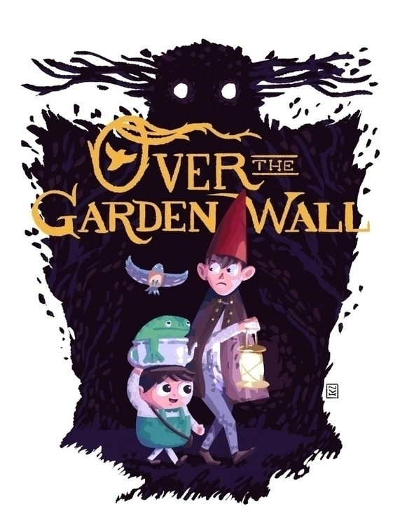 tha garden wall - illustration, drawing - foxhideblog | ello