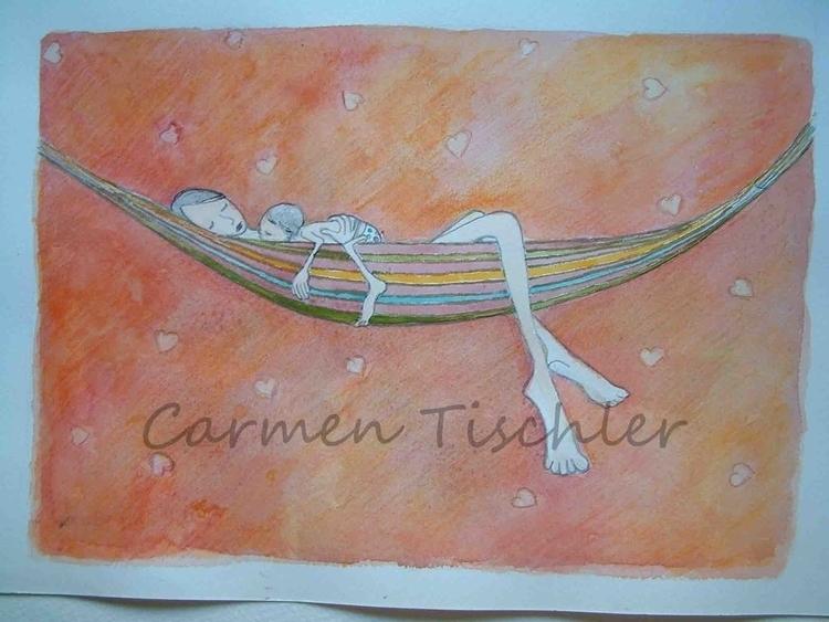 illustration, painting, illustration - carmen-9654 | ello
