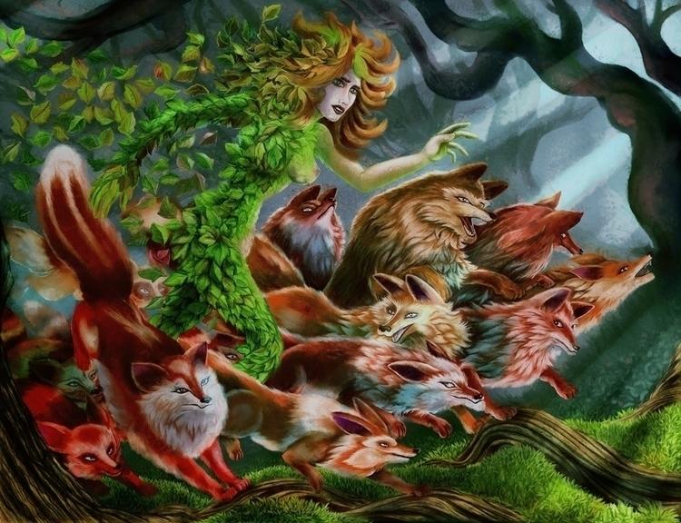 Red Scream - illustration - nogui-5722 | ello