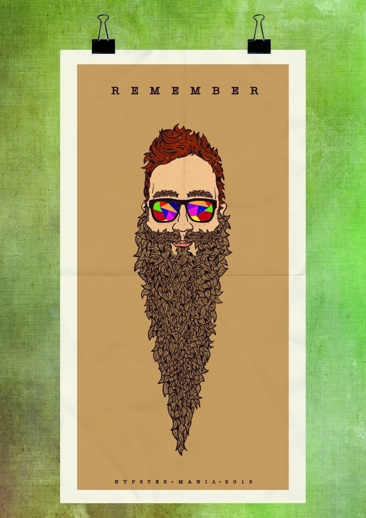 illustration, beard, sunglasses - alexandru-9169 | ello