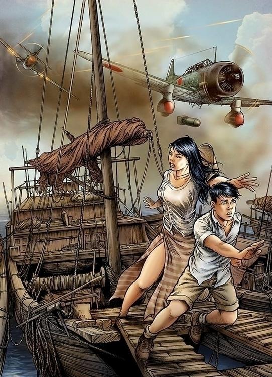 Cover - illustration, comics - tduc | ello
