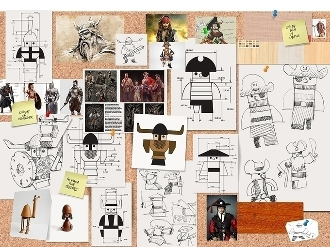 Wooden Warriors - design, drawing - haywud | ello