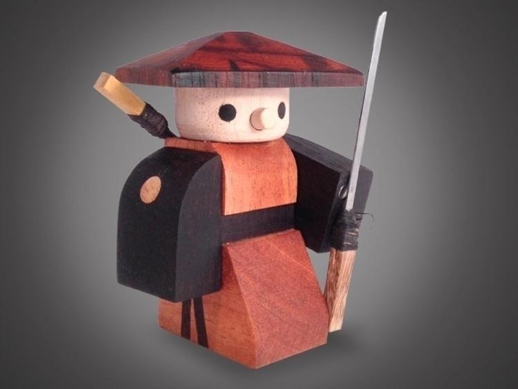 Wooden Warriors - illustration, characterdesign - haywud | ello