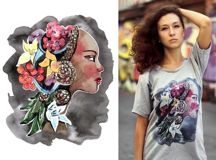 design LUMI merch - tshirt, tshirtdesign - mistakeann | ello