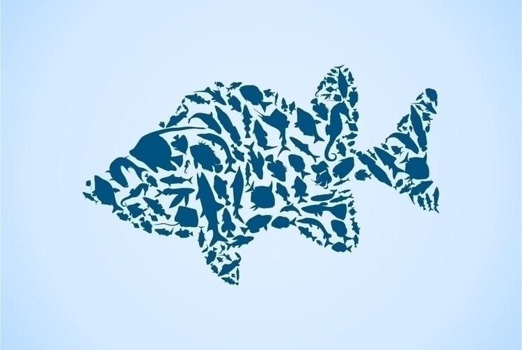 fish, nature - vector30 | ello