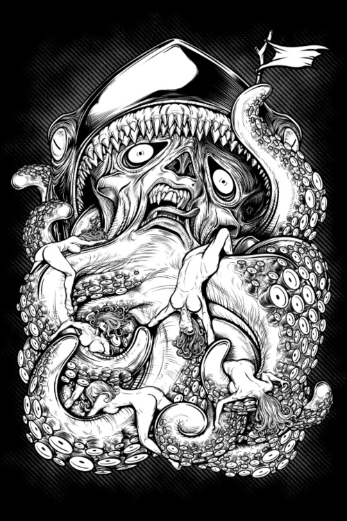 Winya - illustration, drawing, shark - winya   ello