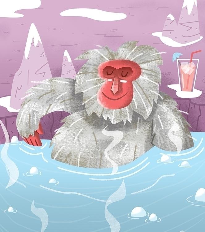 Chilling - James Loram - macaque - jamesloram | ello