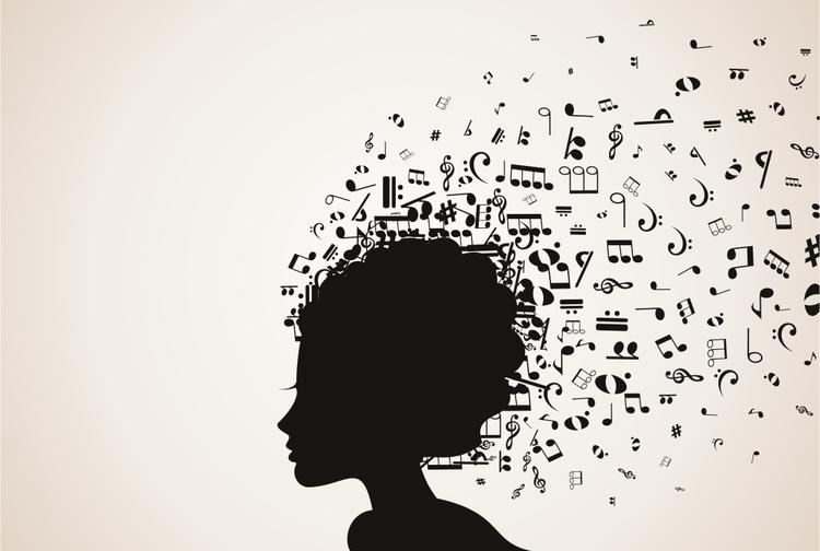 head, music, abstract - vector30 | ello