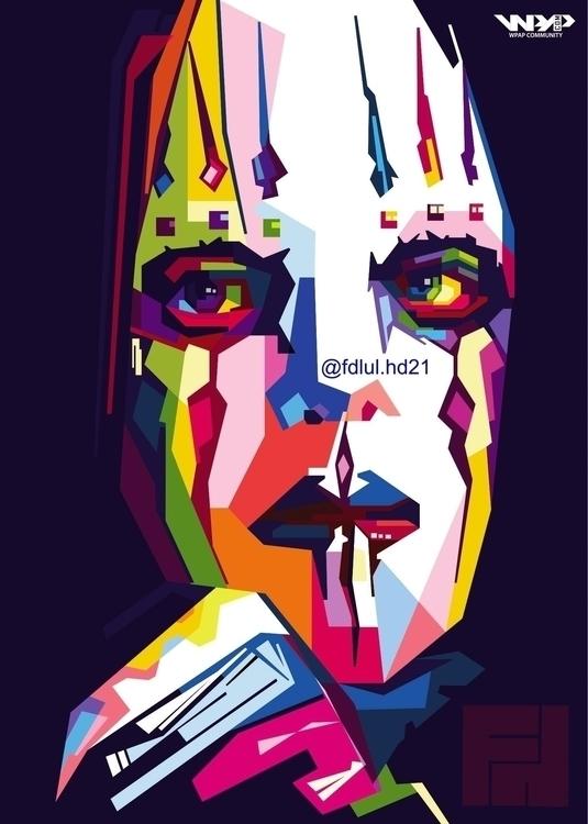 Slipknot - illustration, digitalart - fh21 | ello