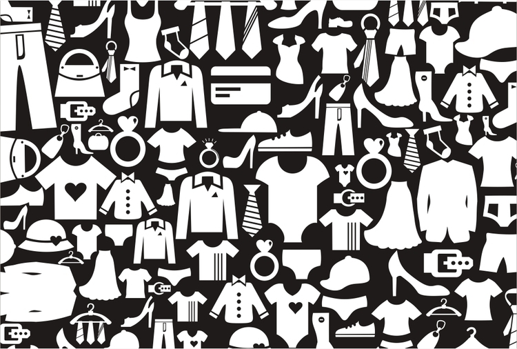 clothes, texture, background - vector30 | ello