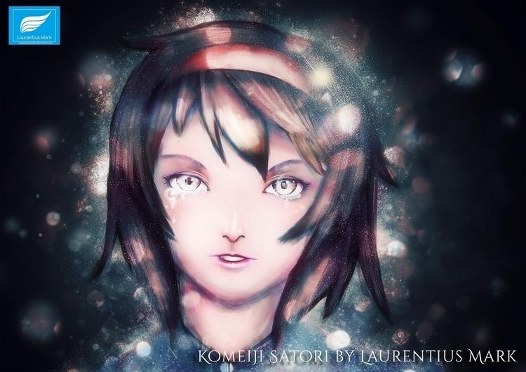 Satori Komeiji Fan Art Touhou P - laurentiusmark93 | ello