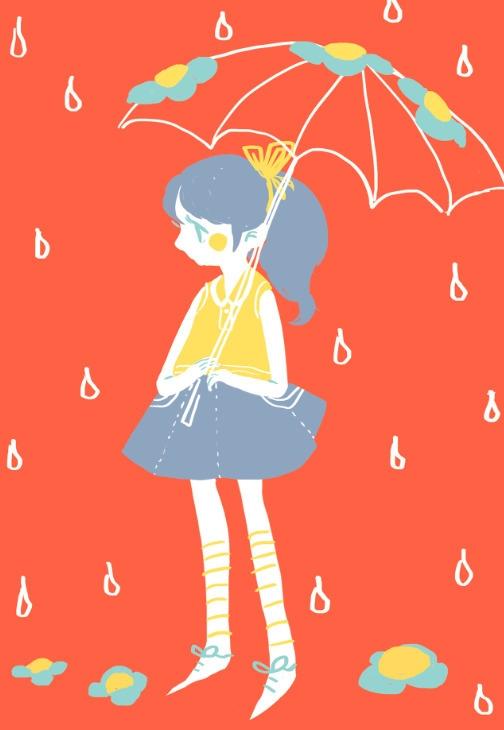 rain - digitalart - llyvn | ello