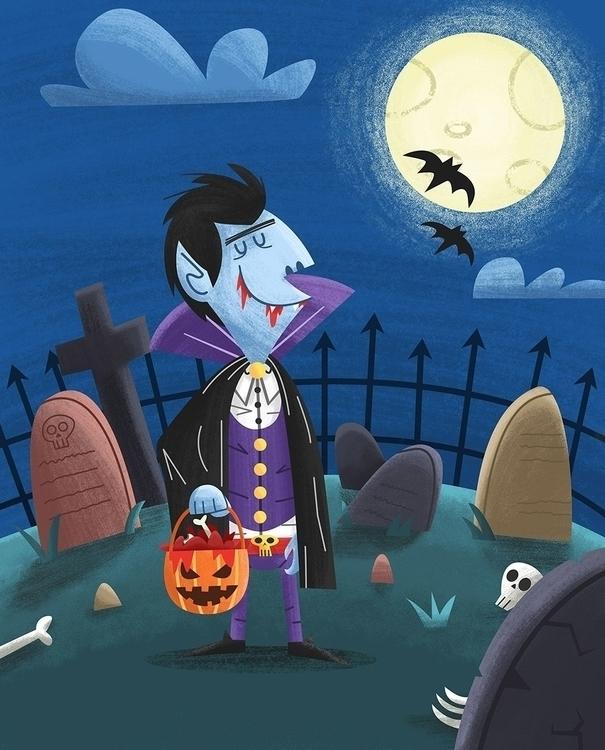Dracula- James Loram - halloween - jamesloram | ello