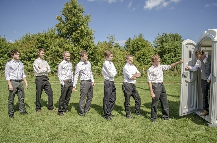 wedding Jim Maryl; groomsmen ce - forestphoto | ello