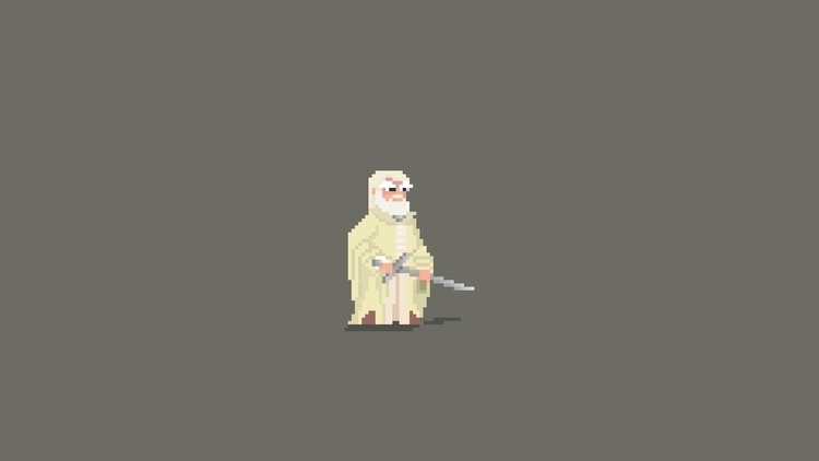 Day 60 / 365 - Gandalf - planckpixels | ello