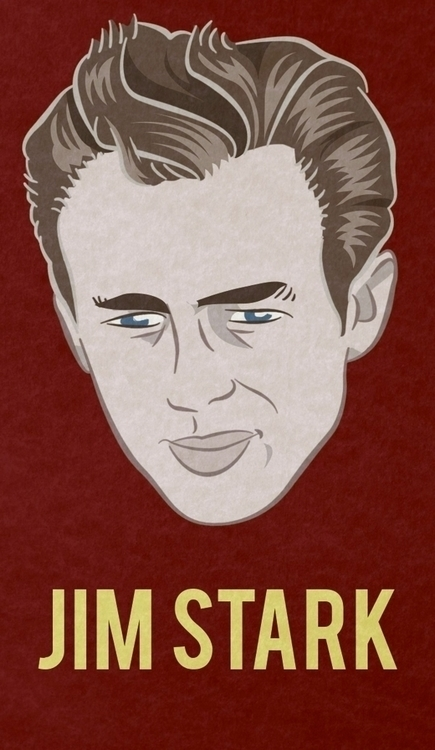 JIM STARK - charachter portraye - francescodibattista | ello