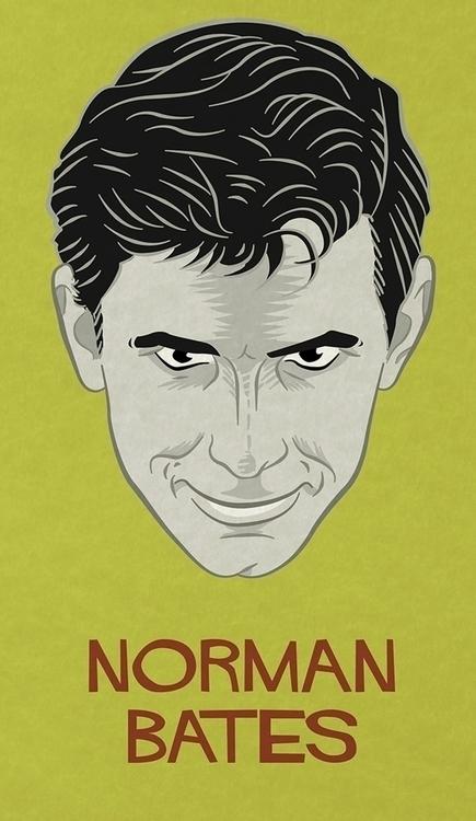 Norman Bates - character portra - francescodibattista | ello