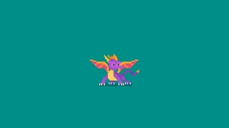 Day 68 / 365 - Spyro - planckpixels | ello