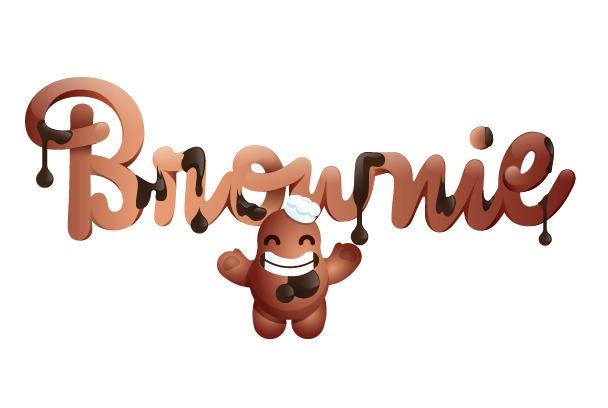 Brownie - illustration, vector, vectorart - lukeandphil | ello