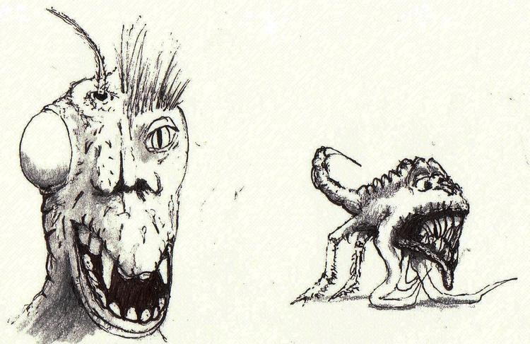 Pals 2 - #critter, illustration - cheechwiz   ello