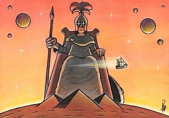 Mars - illustration, painting, song - marcorizzi-1205 | ello
