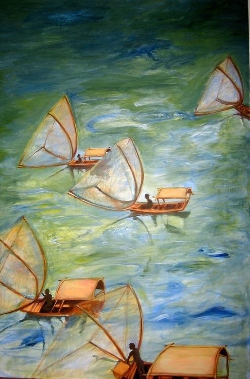 Vietnamese Boats - quyentruong | ello