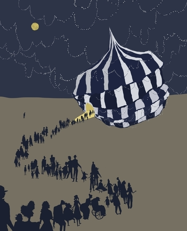 BreadCrumb Trail - circus, tent - charlottekingstonlarson   ello