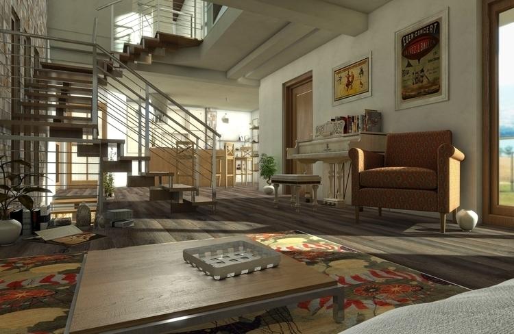 design, environment, 3d - luna79ln | ello