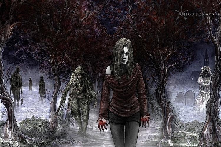 Ghoster concept art - Malevolen - joebecci | ello