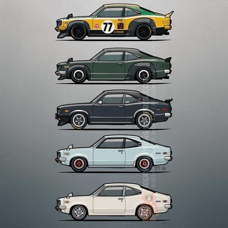 Stack vintage Mazda Savanna GT  - monkeycrisisonmars | ello