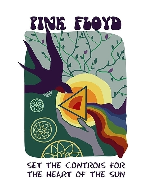 Set Controls Heart Sun - pinkfloyd - odarkaluhihi   ello