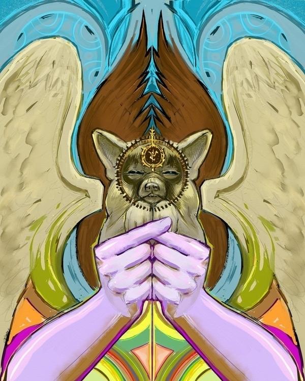 hail Bendy. Colorful illustrati - ztaft111 | ello