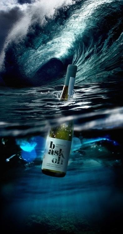 Baskoli Bask white wine - packaging - lukeandphil | ello