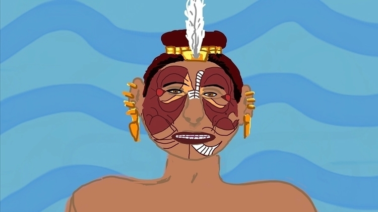 Chief announcing opening ceremo - mkbarr | ello