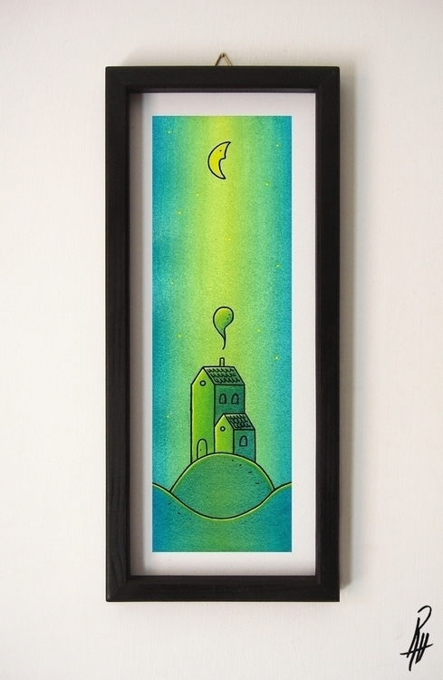 Home (handmade frame - illustration - marcorizzi-1205   ello