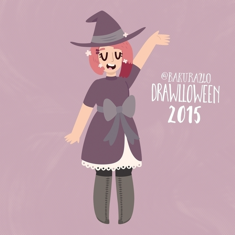 27 - Witch - witch, drawlloween - clairestamper | ello