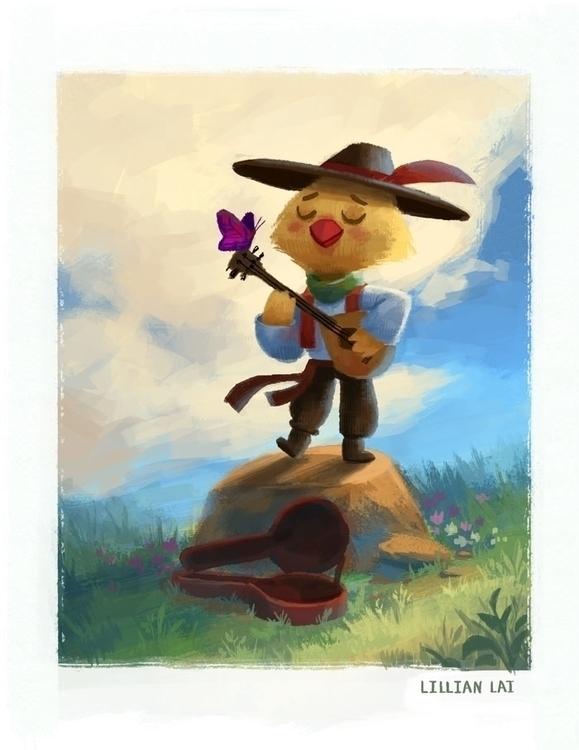 play tune friend~ - lillisketch   ello
