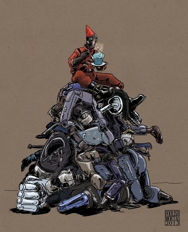 Team Fortress 2 amuses - fanart - foolishmortal-9324 | ello