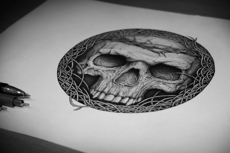 Confined - illustration, drawing - artsc0re | ello