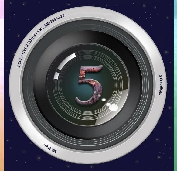 5 Creatives Logo - illustration - mkbarr | ello
