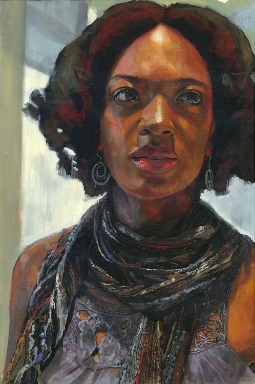 Khadi Acrylic canvas | 20 30 in - mattcauley | ello