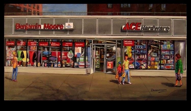 Acrylic Painting NYC - dasguptarts | ello