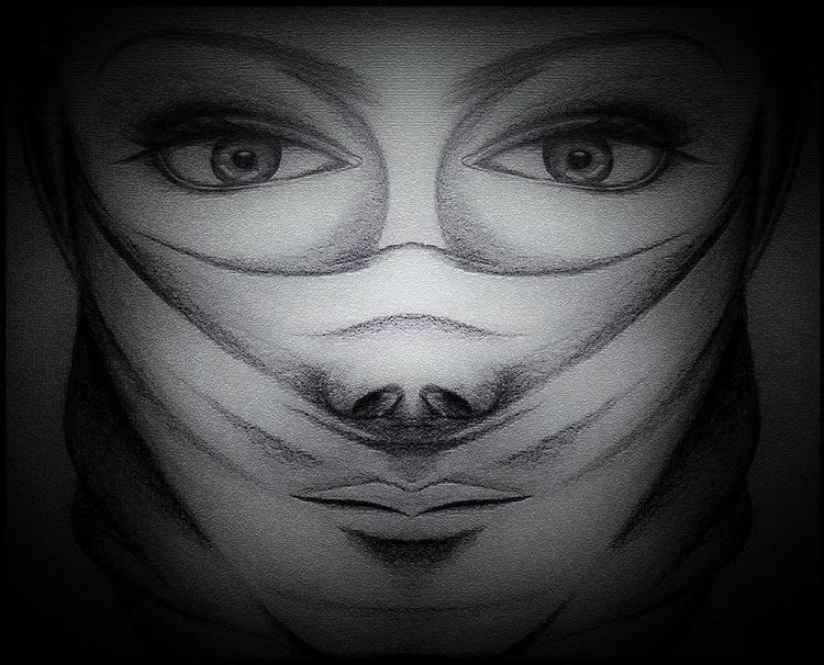 Imaginary Portrait - illustration - monishas   ello